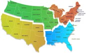 this is a map of all regions