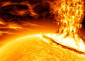 The sun tornado the most hottest tornado in the world.