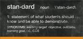 Standards Based Grading Invitation