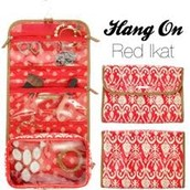 Hang On (Red ikat)