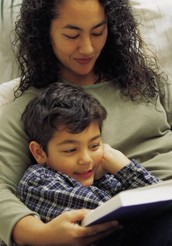 Ways to talk to your child about stories.