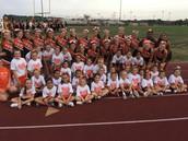 Cheerleaders Teach New Generation Some School Spirit
