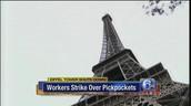 Eiffel Tower Shuts Down