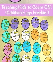 Counting On With Addition Eggs