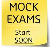 Practice Exam Schedule