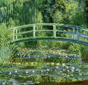 Water Lilies and Japanese Bridge 1899