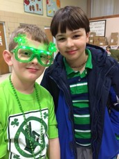 Feeling Keen in Green! Pleasant Street Celebrates a School Spirit Day :-)