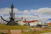 Памятник первооткрывателям Ямальских недр