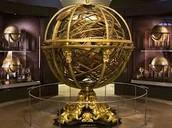 כדור אסטרונומי במוזיאון לתולדות המדע בפירנצה