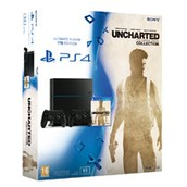 PlayStation 4  Uncharted: The Nathan Drake  2 controllers