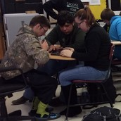 CHS - Ms. Sebben's Drama Students & Mr. Martin's American Government Students!