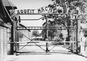 Entrance of Auschwitz I