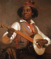 """The Banjo Player"""