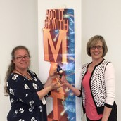 The Gnome Named Squirrel Award Winner(s) - Carrie Garges and Donna Sheck