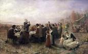 Pilgrims in prayer