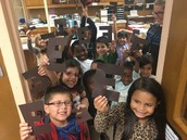 """""""Mr. Hill...want a brownie? Here are some brown E's! April fools!"""" Good one kindergarten!"""