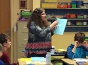 Mrs. Wilson Teaching