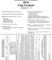 Grades 1-6 Flag Football Registration