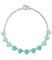 Somervell Necklace - Aqua $29