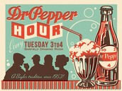 Dr. Pepper Hour