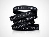 Charity Water Wristband