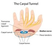 Areas near the Carpal Tunnel