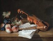 Still Life with a Violin