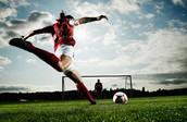 The sport: Soccer
