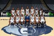 The Memphis Grizzlies Team
