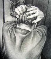 Girl in a corner