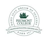 Piedmont Professionalism Certificate
