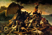 Raft of the Medusa by Theodore Géricault