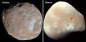 How many moons are in Mars?