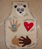 A Greeting Apron