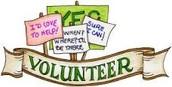 Volunteer Opportunities in Grade 4/5
