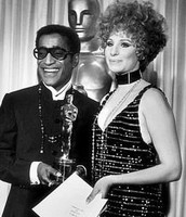 Sammy receiving  a Grammy