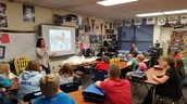 Mrs. Hable joined us to talk mummies