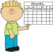 January Calendar Reminders