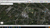 Google Map of Brookside Watershed