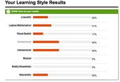 Learning Style Test Results