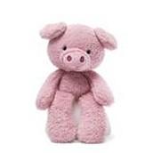 A stuffed pig