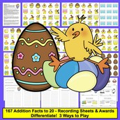 Easter Addition Facts to 20!