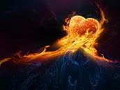 El amor como fuego