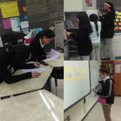 Ms. Natalino's class did a text structure scavenger hunt!