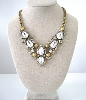 Zora Crystal Necklace - $60