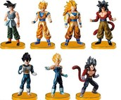 Bonecos do Dragon Ball