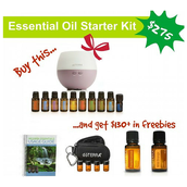Purchase this essential oil kit and receive the following goodies: