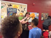 Surprising Mrs. Gilliland with a Happy Birthday Surprise!