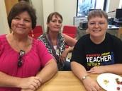 PreK Staff:  Mrs. Reddock, Mrs. Nivens, and Mrs. Cragle