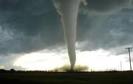 A tornado in action